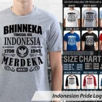 harga Kaos Indonesia Bhinneka Tunggal Ika Nkri - Indonesian Pride Logo 1 Cr Tokopedia.com