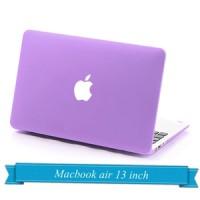 Macbook Air 13 inch Hard Case matte/doff/rubberized Soft Purple
