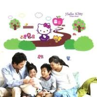 Hello Kitty Dream House HK-013 - Stiker Dinding / Wall Sticker