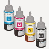 Tinta Botol Original Epson 70ml untuk Epson Lseries L100 L110 L200 L21