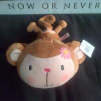 boneka Nici Fall in love monkey monyet bunga