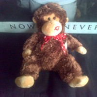 boneka Nici Monkey Kiss