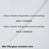Wire Fiberglass Insulation 3mm @ 1 meter