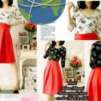 atasan korea , lowback top bagus low back