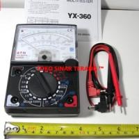 Multitester/Multimeter/Avometer/Voltmeter Analog Merk ATN YX 360 Besar