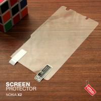 Nokia X2 Anti Gores Antigores Screen Protector Guard Clear