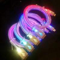 harga KABEL CHARGER / DATA MICRO USB LAMPU PELANGI (KABEL BULAT) Tokopedia.com