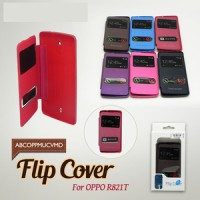 Case Flip Cover/Flipcover Double View Oppo Find Muse R821T