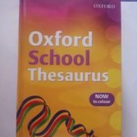harga Oxford School Thesaurus (original) Tokopedia.com