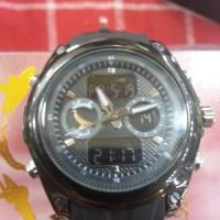 harga Jam Tangan Lasebo 8021 List Black Hitam Karet Rubber Original Ori Tokopedia.com