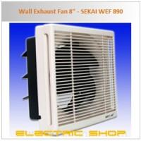 """Wall Exhaust Fan 8"""" - SEKAI WEF 890"""