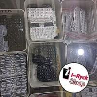 keypad key pad bb blackberry 8520 gemini hitam putih ungu original rim