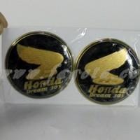 Emblem Tangki CB Dream Jumbo 305 Material Kuningan