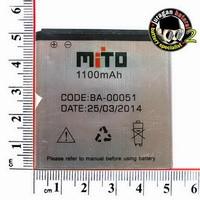 Baterai/Battery  MITO BA-00051 for MITO A210 - 1100mAh Original