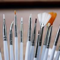 Kuas Nail Art Brush Kuku 15pcs