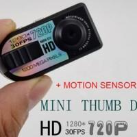 1280 x 720P 12MP Mini Spy Camera 4IN1 - Photo + Video + Audio + Motion