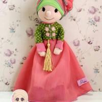 Boneka Hijab Muslimah Mini Meymey Hanbok