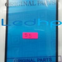 Kaca LCD Samsung Galaxy S5 SIV GT-i9600 GT i9600 9600 Hitam Putih ORI