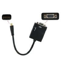 HDMI Mini to VGA + Audio Conversion Cable