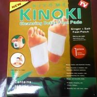 harga Kinoki Gold Ginger Salt ( Koyo Kaki Foot Patch Detox Original ) Tokopedia.com