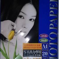 Kertas Photo Mitsubishi Coated Paper A4 GLOSSY PHOTO PAPER 20'S RESIN-COAT