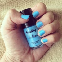 Tuesday In Love - Caribbean Sea. Peel Off Water Permeable Nail Polish