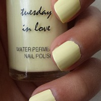 Tuesday In Love - Sunny Days. Peel Off and Water Permeable Nail Polish