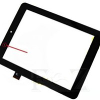 "Touch Screen Glass Digitizer NEXTBOOK EFUN NX008HD8G F0264 X 8"" Black"