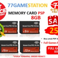 MEMORY CARD PSP 8GB Produo (NEW) FULL GAMES REQUEST >>> TERMURAH