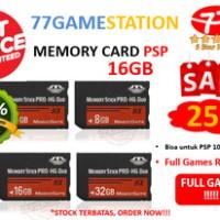 MEMORY CARD PSP 16GB Produo (NEW) FULL GAMES REQUEST >>> TERMURAH