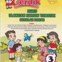 CERDIK, Buku Ulangan Harian/Bank Soal Tematik SD Kelas 3 Kurikulum '13