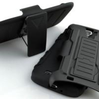 Samsung Galaxy S4 Mini Bumper Armor Dual Layer Full Protection Case