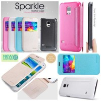 Samsung Galaxy S5 Mini / Duos - Nillkin Sparkle Series Leather Case