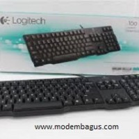 Keyboard LOGITECH Classic K100 (PS2)-Spill Resistant-Terkenal Awet