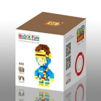Loz Lego Nano Block X-Men Cyclops