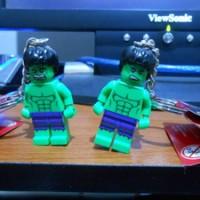Lego MARVEL 850814 the Hulk Keychain