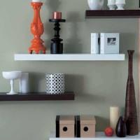 Floating Shelves D:60 x 20 x 4 (cm) @ 4 buah