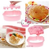 alat bento / cetakan - Sandwich Cutter (Hello Kitty Sanrio )