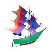 layang layang Perahu 3 Dimensi Polos