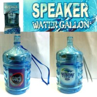 Speaker Galon Aqua Cleo Ades Vit Aquase Cheers Air mineral Portabel