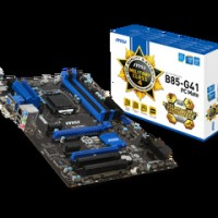 Motherboard MSI B85-G41 PC Mate performa mantap...