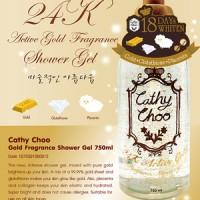 Cathy Doll 24K Active Gold Fragrance Shower Gel 750gr