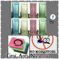 harga Tirai Pintu Magnet Anti Nyamuk Magnetic Curtain Magic Mesh 1kg Isi4pcs Tokopedia.com