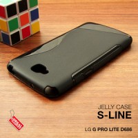 LG G Pro Lite Dual D686 Soft Gel Jelly Silicon Silikon Case Softcase