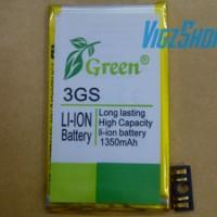 harga Battery/batre/baterai Iphone 3gs Double Power Merk Green Tokopedia.com