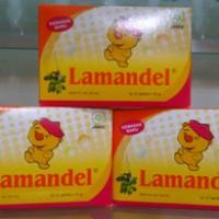 Lamandel Sachet (Herbal Alami Obat Amandel, Tenggorokan, Batuk, Pilek)