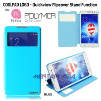 Flipcover Himax Polymer Octa Core : Coolpad Logo Quickview Stand