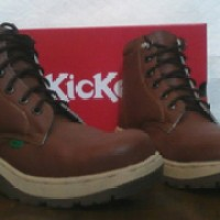 KICKERS SAFETY SHOES KULIT