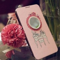 Korean Bookcase Dressing Table for Samsung S4/S5/Note 3
