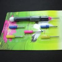 Set Obeng Mini Plastik Warna-Warni (1 Set Isi 6)